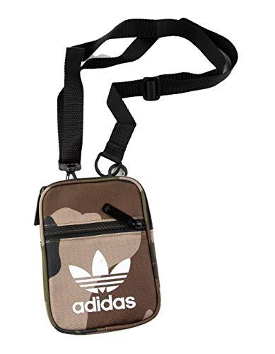 Adidas Men's Fest Essentials Crossbody Bag One Size Camo Tan