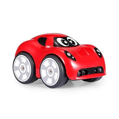 ZzheHou Carro De Control Remoto Objeto 2.4G Mini Coche de evitación SIGA el Modo de Pista Drive Efectos de Sonido rotación de 360 Grados Coche teledirigido (Color : Red, Size : One Size)