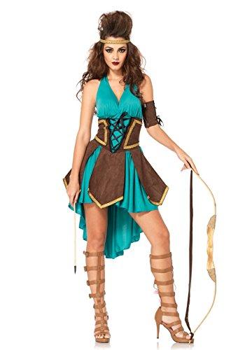 Leg Avenue Guerrière Celte Costume Femme Turquoise Taille S/M