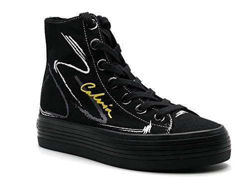 Calvin Klein Zapatos de mujer Art B4R0888 Black Color Foto Medida a elegir Negro Size: 36 EU