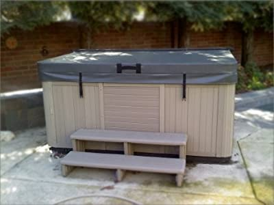 """BeyondNice Deluxe Hot Tub Covers -Spa Covers - 5"""" Thick for a Balance Between Cost and Insulation"""