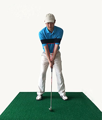 Price comparison product image KOALA Golf Swing Trainer Aid Professional Golf Arm Belt Posture Motion Correction Band for Golf Beginner