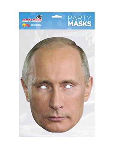 Rubies DTRUM02 - Maske von Putin, Mehrfarbig