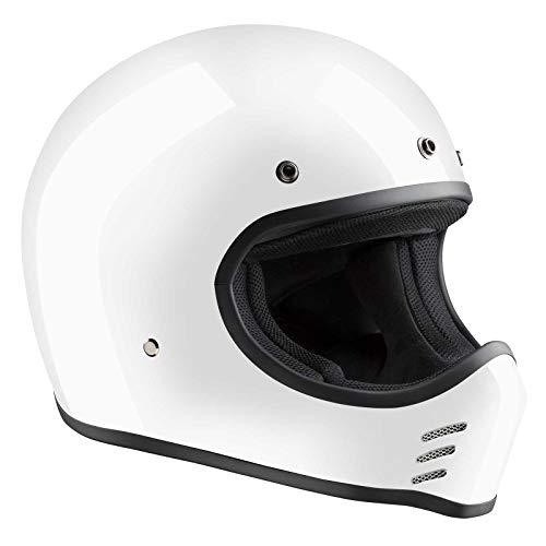 Bandit Neu ECE 22-05 HMX - Fiberglas Motorradhelm Motocross, Größe:M(57-58cm)