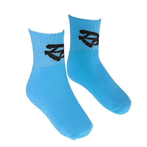 SM SunniMix Kinder Inline Skating Socken Inline Skating Winter Warme Strümpfe 25 36 - Blau