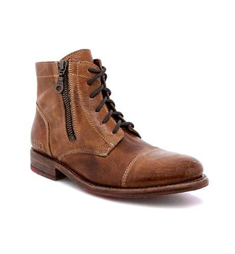 Bed|Stu Women's Bonnie Leather Boot (7, Tan Rustic)