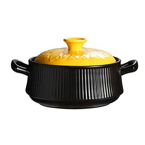 Faitout en céramique, cocotte grande capacité, ragoût à soupe, bouillie, réchaud à gaz, Noël,Cocottes-A-4L