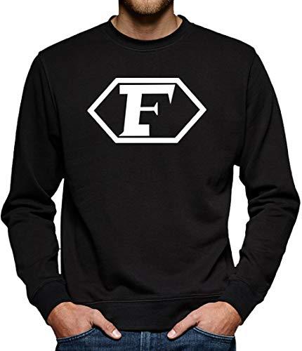 Captain Future Logo Sweatshirt Pullover Herren XXXL Schwarz
