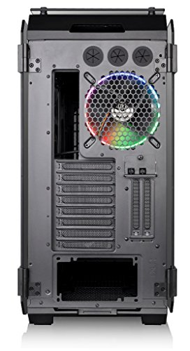 Thermaltake View 71 TG Case Full-Tower per Desktop PC con Finestre in Vetro Temperato, Nero/RGB