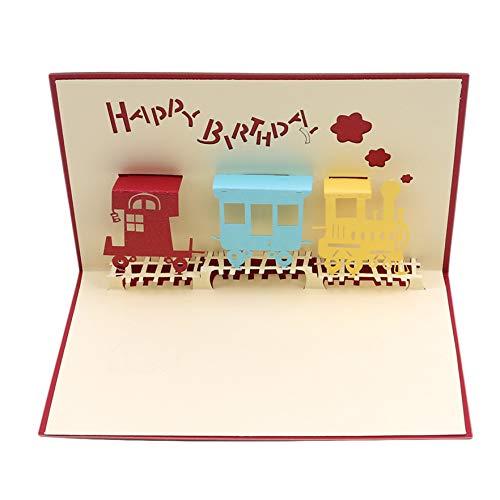Airlove Pop-up-Geburtstagskarte Jubiläum, 3D-Pop-up-Karte Liebe alle Gelegenheiten, Muttertagskarten Danke Grußkarte, für Kinder Baby Klassenkamerad
