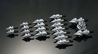 hayabusa chrome fairing bolts