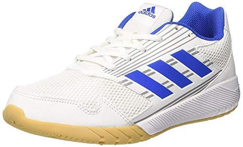 adidas Unisex-Kinder Altarun K Laufschuhe, Weiß (Footwear White/Blue/Mid Grey), 30 EU