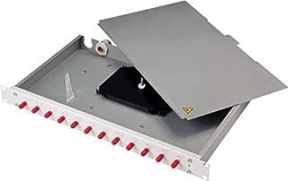 TELEGÄRTNER H02030A9009 LWL Patch Panel Basis Eco mit 12x SC-Duplex lichtgrau B001JK50VO  Zuverlässige Qualität