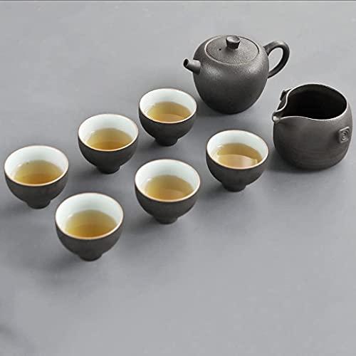 TNSYGSB Crockery Cerámica Tetera Teteras Tazas de té Té de Porcelana Juego de té para la Ceremonia de té vajilla de Cocina
