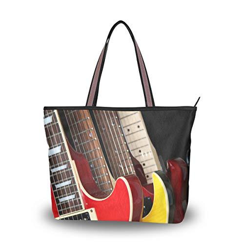 Ahomy - Bolso de hombro para guitarras eléctricas de estilo retro, para...