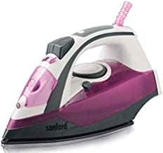 Sanford Steam Iron 220-240V,Purple - SF77CI