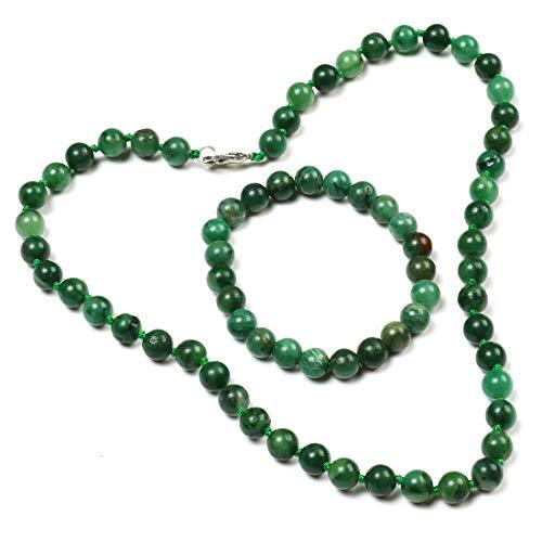 TreasureBay Mujer Jade africano verde