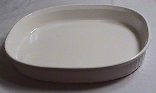 Corning Ware French White Oval Baking Dish 2.5 Quart #F-4-b