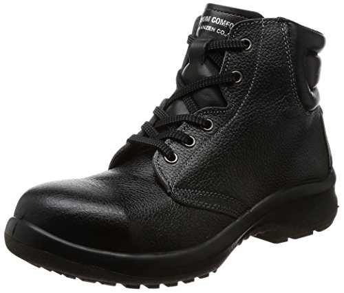 [ミドリ安全] 安全靴 JIS規格 女性用 中編上靴 プレミアムコンフォート LPM220 ブラック 23.5 cm 3E