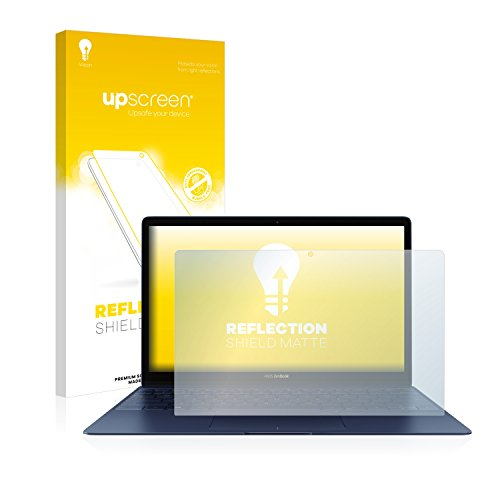 upscreen Entspiegelungs-Schutzfolie kompatibel mit Asus ZenBook 3 UX390UA – Anti-Reflex Bildschirmschutz-Folie Matt
