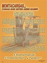 Pôster de segurança de empilhadeira... Things You Should Know (45,72 x 60,96 cm) - Espanhol