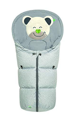 Odenwälder Fußsäckchen Mucki für Gr. 0 Babyschale fashion Pebbles steel