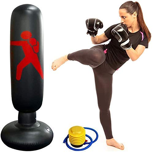 xhllx inflatable punching bag free