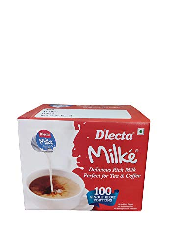 D'LECTA Dlecta Milke (100 Cups of 10g Each)