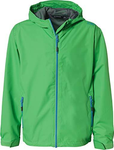 CMP Jungen Windproof and Waterproof rain Jacket WP 10.000 Regenjacke, Grass, 176