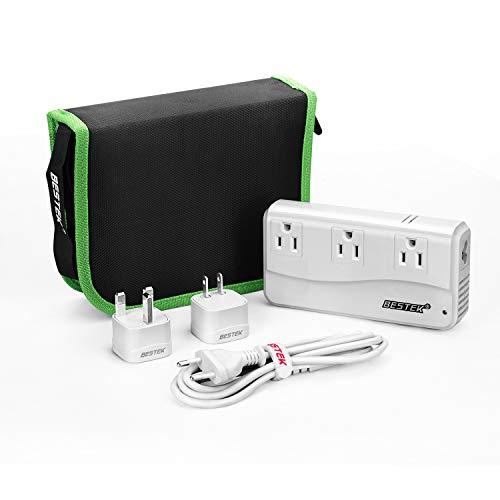 BESTEK Travel Adapter 220V to 110V Voltage Converter with 6A 4 USB...
