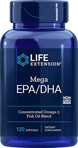 Life Extension Europe Omega-3 Soft Gels, 120-Count
