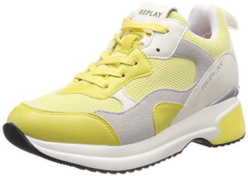 Zapatillas amarillas para Mujer, Amarillo (Yellow)