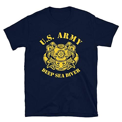 US Army Deep Sea Diver Underwater Operations Unit Marine Corps - Camiseta de buceo