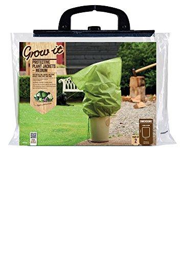 Grow It 75705 Sacs de Protection pour plante Molletonnés 23 x 4,5 x 43 cm