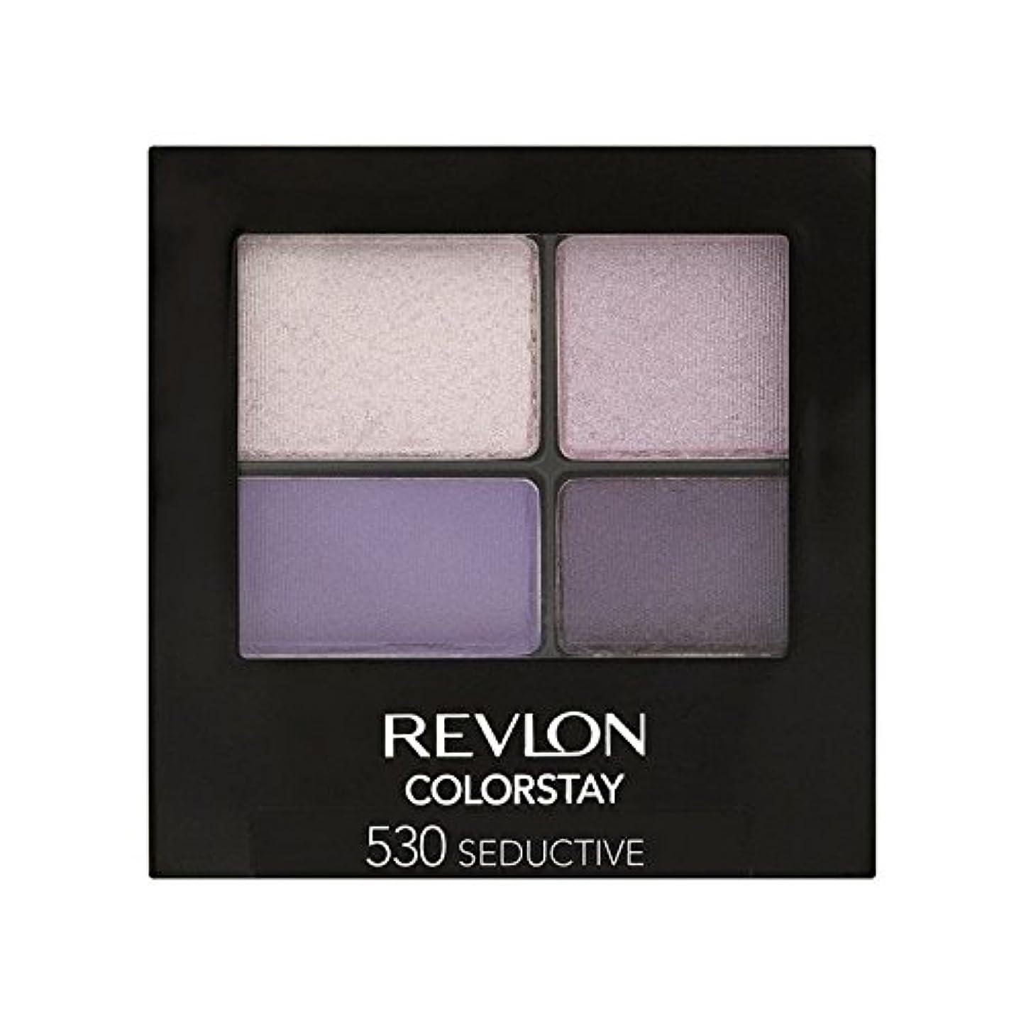 ニュージーランド主人不利レブロンの 16時間アイシャドウ誘惑530 x2 - Revlon Colorstay 16 Hour Eye Shadow Seductive 530 (Pack of 2) [並行輸入品]