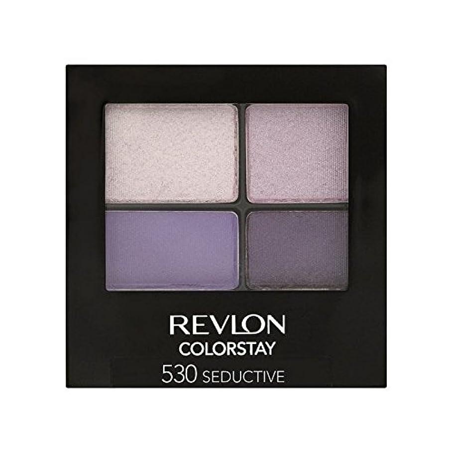 均等に入り口最も遠いRevlon Colorstay 16 Hour Eye Shadow Seductive 530 - レブロンの 16時間アイシャドウ誘惑530 [並行輸入品]