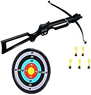 Bingo Crossbow with 5 Suction Arrows and Aiming Board Set
