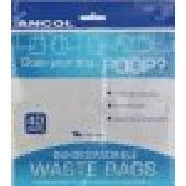 Ancol Biodegradable Poop/Waste Bags - 3 Pack Deal!