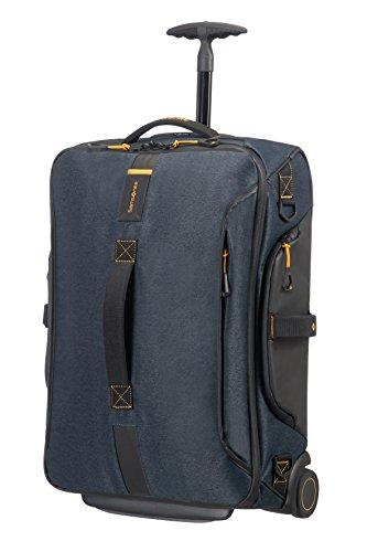 Samsonite Paradiver Light - Bolsa de viaje con ruedas, S (55 cm - 48.5 L), Azul (Jeans Blue)