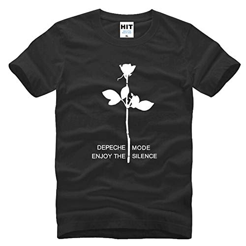 Men's Fashion Short Sleeves T-Shirt Printing Electronic Music Depeche Mode Enjoy The Silence T Shirts