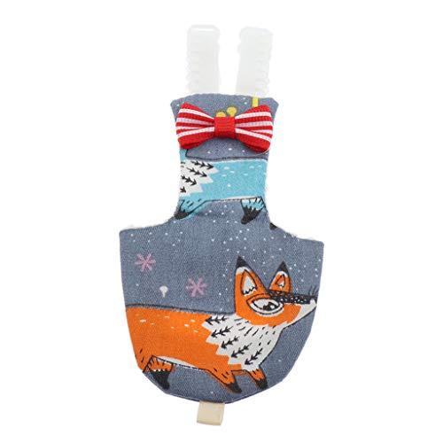 B Blesiya Parrot Diaper Bird Pee Poo Pad Pañal para Loros Ideal para Viajar - S