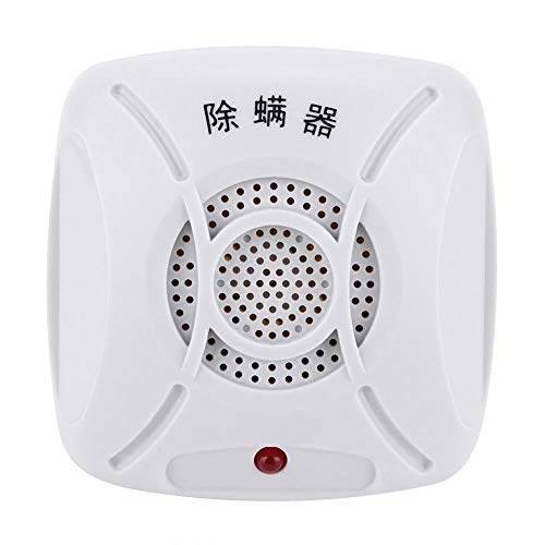 Mijtcontroller, huisstofmijtcontroller Repeller Allergiecontroller Geluidsarme elektrische plug-in mijtenverwijderingsapparaat voor huishoudelijk bed thuis.