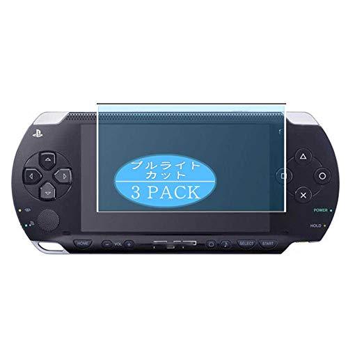 VacFun 3 Piezas Filtro Luz Azul Protector de Pantalla, compatible con SONY PSP 1000 PSP1000, Screen Protector Película Protectora(Not Cristal Templado)