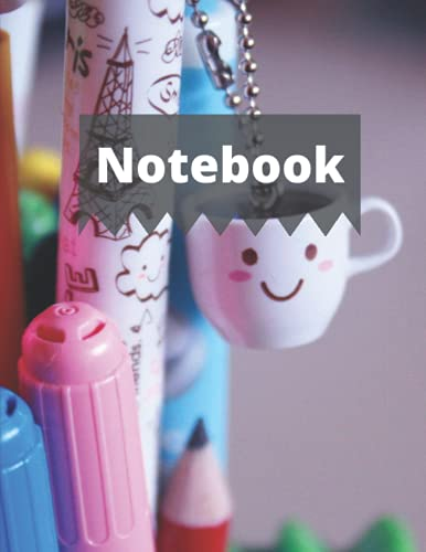 Notebook: Line Ruled Journal (8.5 x 11) Narrow Ruled 6.35 mm dotted lines without vertical line 100 pages: for students, for business or personal use