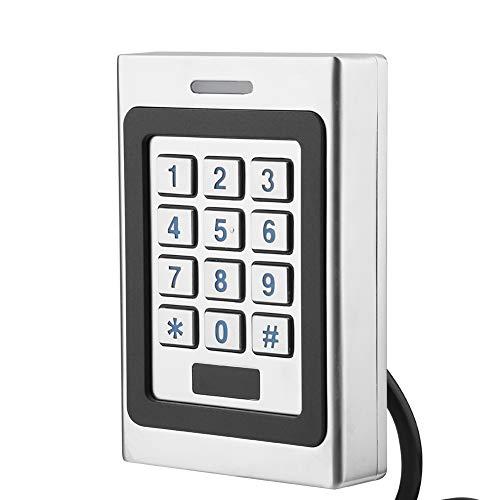 Controlador de Acceso, Multifuncional Impermeable IP68 Tarjeta RFID Controlador de Acceso a la Puerta Teclado Seguridad Sistema de Control de Acceso a la Puerta para el hogar, la Oficina