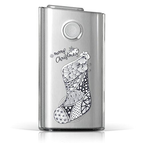 glo グロー グロウ 専用 クリアケース クリアカバー タバコ ケース カバー 透明 ハードケース カバー 収納 デザイン ポリカーボネート クリスマス プレゼント 014241