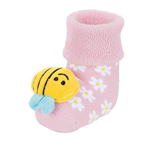 Sterntaler Baby-Rasselsöckchen, Bienen-Motiv, Größe: 16,
