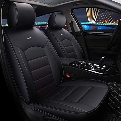 Xypc 5 zitplaatsen auto verstelbare verwijderbare auto stoel kussens auto stoelhoezen beschermer met hoofdsteun kussens en Lumbar ondersteuning kussens, B-9
