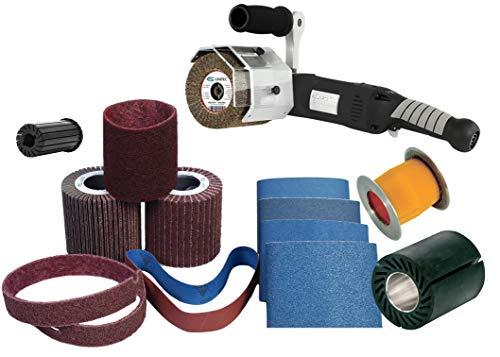 CS Unitec 47003A PTX Basic Oberflächenbearbeiter/Linearschleifer Kit für Metall