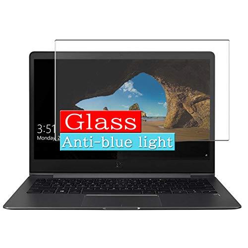 VacFun Filtro Luz Azul Vidrio Templado Protector de Pantalla para ASUS ZenBook 13 UX331FN / UX331FAL / ux331un / ux331ual / ux331ua 13.3' Visible Area Screen Protector(Cobertura no Completa)